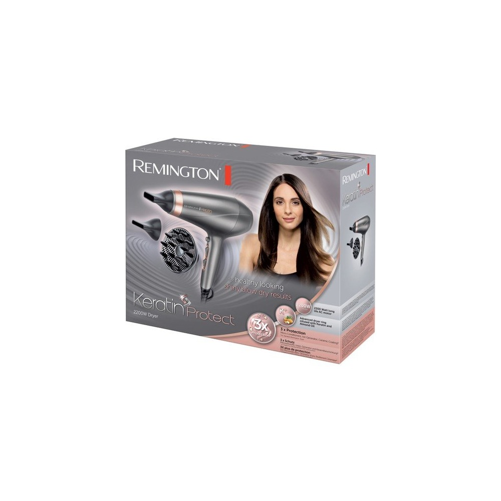Remington Keratin Sac Kurutma Makinesi Keratin Therapy Pro Dryer